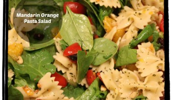 Good Eatin': Mandarin Orange Pasta Salad with Teriyaki Dressing