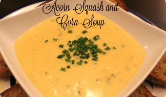 Good Eatin': Acorn Squash and Corn Soup